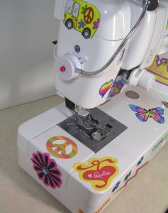 Sewing Machine Bling!